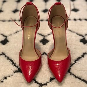 Candy Red Pumps • size 6